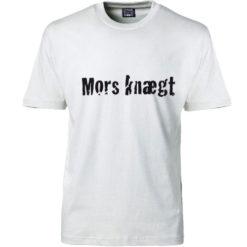 T-shirt mors knægt hvid