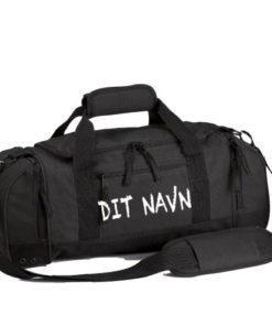 Sportstaske dit navn sort