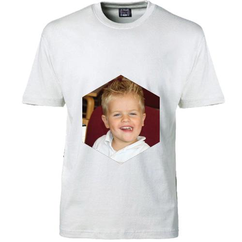 Voksen T shirt med foto HERRE