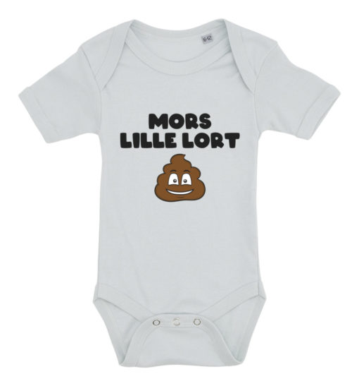 Baby bodystocking Mors lille lort blå
