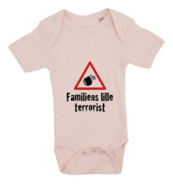 baby bodystocking familiens lille terrorist lyseroed