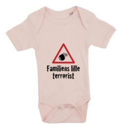 baby bodystocking familiens lille terrorist lyseroed