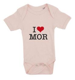 baby bodystocking i love mor lyseroed