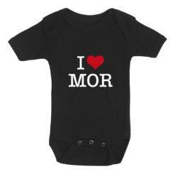 baby bodystocking i love mor sort