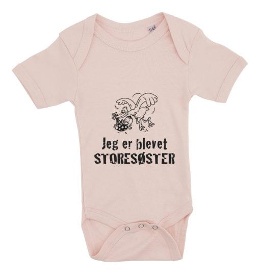 baby bodystocking jeg er blevet storesøster lyseroed