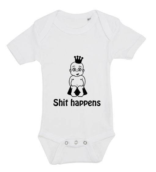 baby bodystocking shit happens prinsesse hvid