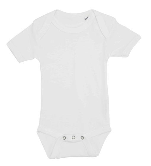 baby bodystocking uden tryk hvid