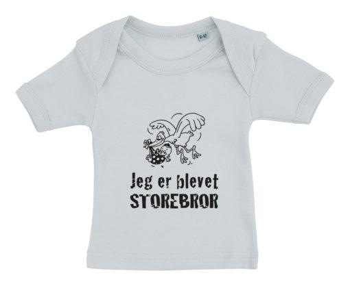 baby t-shirt jeg er blevet storebror blaa