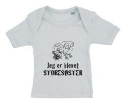 baby t-shirt jeg er blevet storesøster blaa