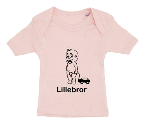baby t-shirt lillebror lyseroed