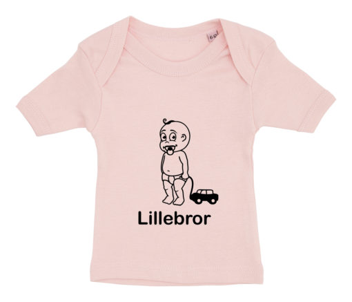 baby t-shirt lillebror lyseroed