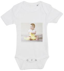 baby bodystocking dit foto firkant hvid