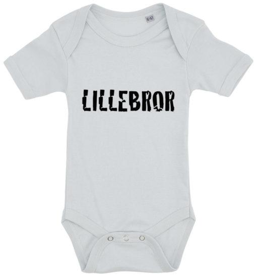 baby bodystocking lillebror blaa