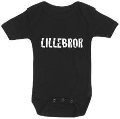 baby bodystocking lillebror sort