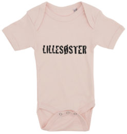 baby bodystocking lillesoester lyseroed