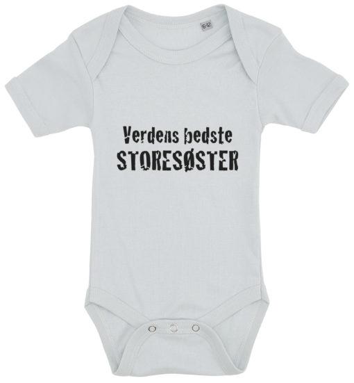 baby bodystocking verdens bedste storesoester blaa