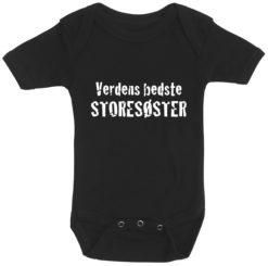 baby bodystocking verdens bedste storesoester sort
