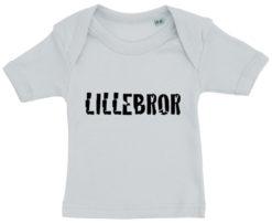 baby t-shirt lillebror blaa