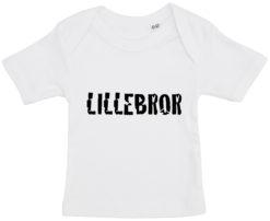 baby t shirt lillebror hvid