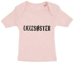 baby t shirt lillesoester lyseroed
