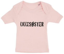 baby t-shirt lillesoester lyseroed