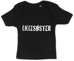 baby t-shirt lillesoester sort