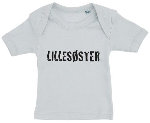 baby t-shirt lillesoster blaa