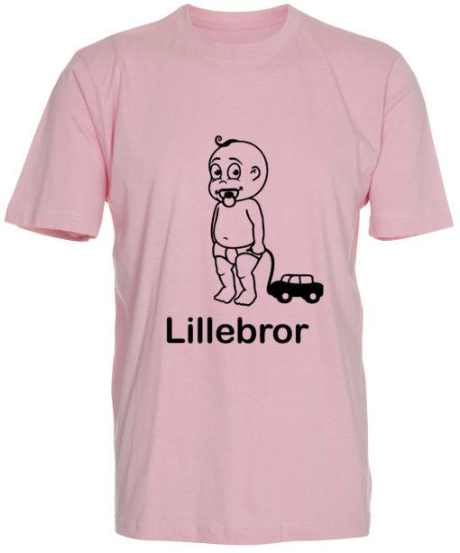boerne t-shirt lillebror lyseroed