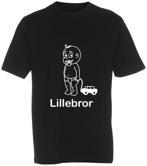 boerne t-shirt lillebror sort