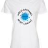 corona stoette t-shirt til kvinder hvid