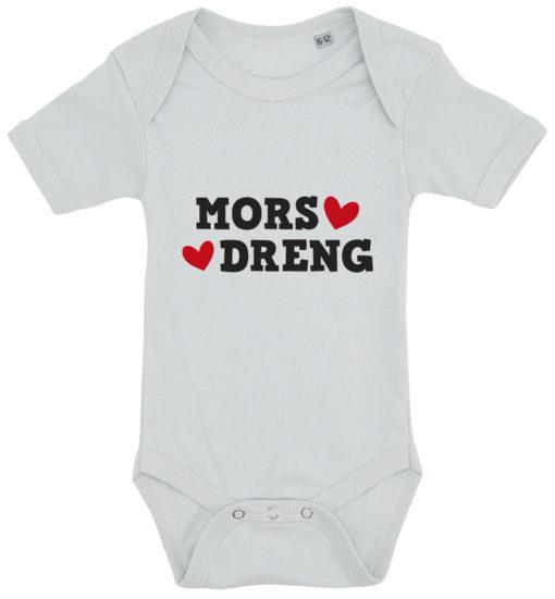 baby bodystocking mors dreng blaa