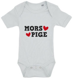 baby bodystocking mors pige blaa