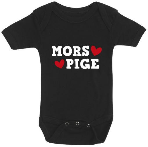 baby bodystocking mors pige sort