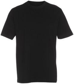 boerne t-shirt sort