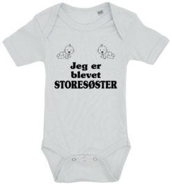 baby bodystocking jeg er blevet storesoester blaa