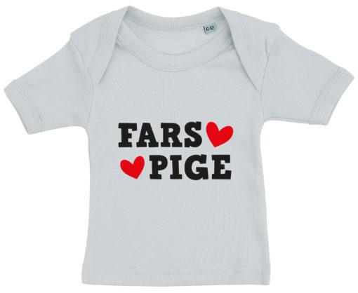 baby t-shirt fars pige blaa