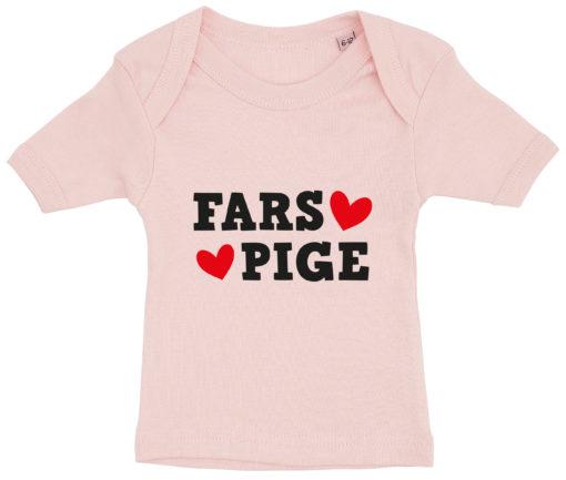 baby t-shirt fars pige lyseroed
