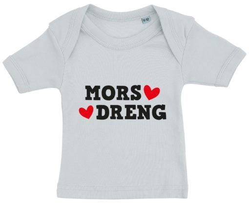 baby t-shirt mors dreng blaa
