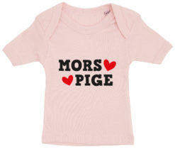 baby t-shirt mors pige lyseroed