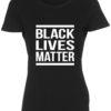 dame t-shirt black lives matter sort