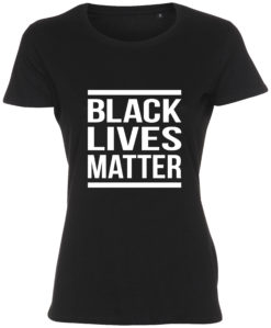 dame t-shirt black lives matter sort