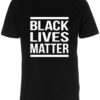 herre t-shirt black lives matter sort
