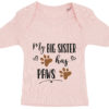 baby t-shirt my big sister has paws lyseroed