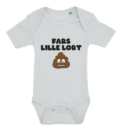 Baby bodystocking fars lille lort blaa