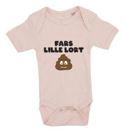 Baby bodystocking fars lille lort lyseroed
