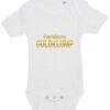 baby bodystocking familiens guldklump hvid
