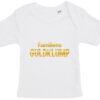 baby t-shirt familiens guldklump hvid