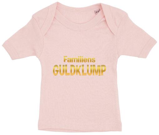 baby t-shirt familiens guldklump lyseroed