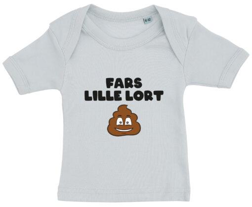 baby t-shirt fars lille lort blaa