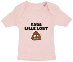 baby t-shirt fars lille lort lyseroed